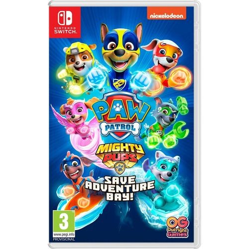 PAW Patrol Mighty Pups Save Adventure Bay SWITCH