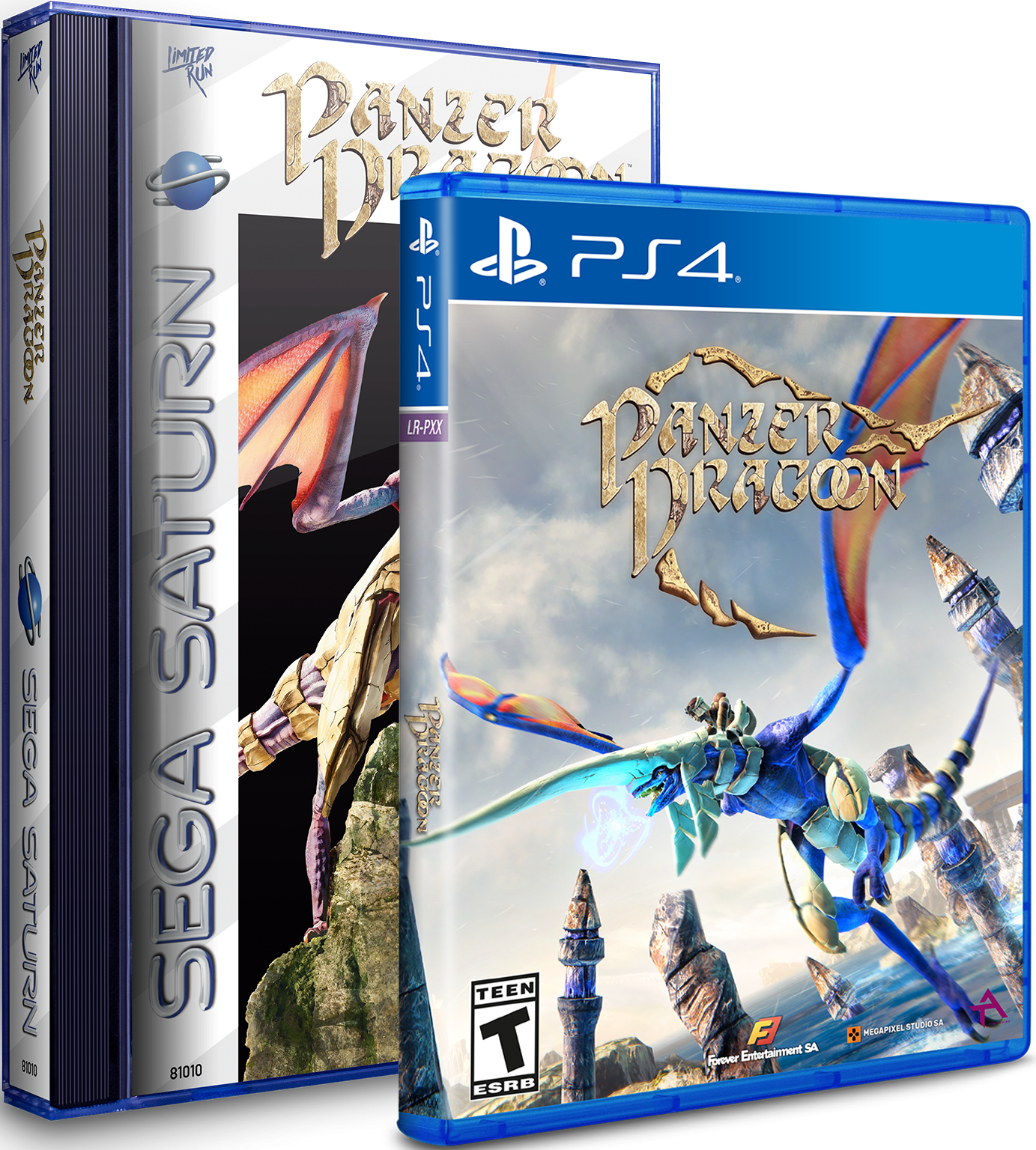 Panzer Dragoon Remake Classic Edition PS4