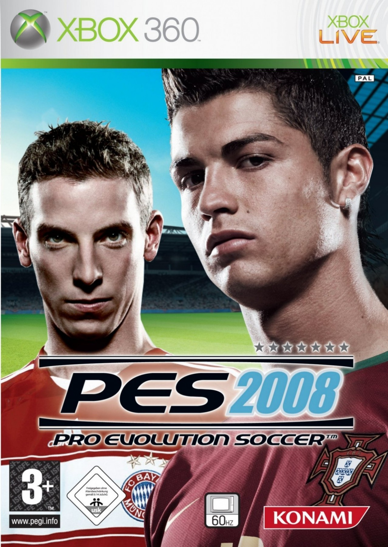 Pro Evolution Soccer 2008 б/в X360