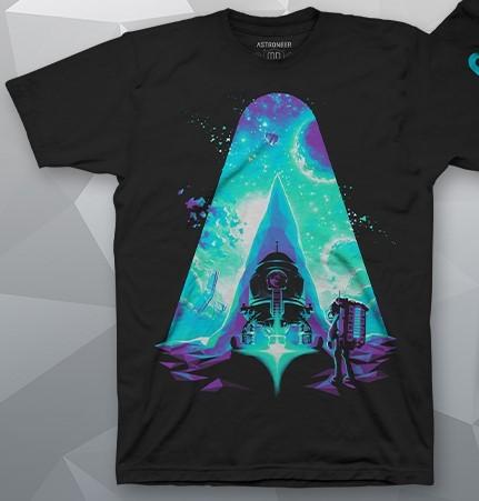 Astroneer Solar Discovery Футболка | Astroneer Solar Discovery Shirt