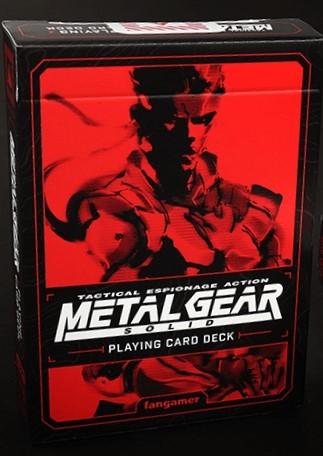 Metal Gear Solid Игральные карты (стандартная колода) | Playing Cards