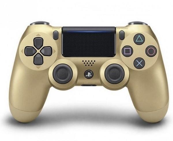 Бездротовий контролер/джойстик/геймпад DualShock 4 Wireless Controller Gold V2