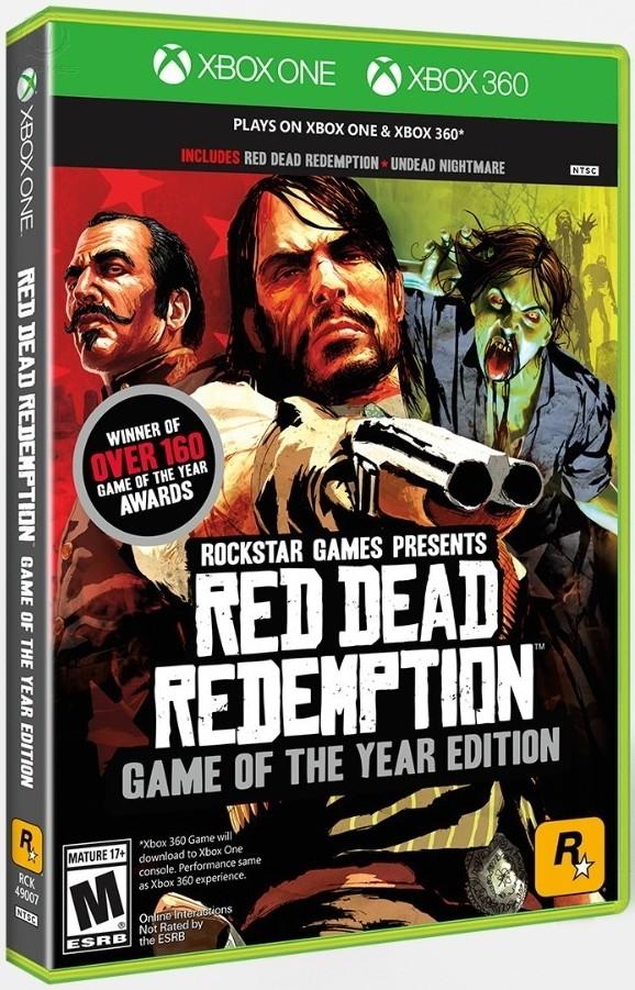 Red Dead Redemption GOTY X360/XONE