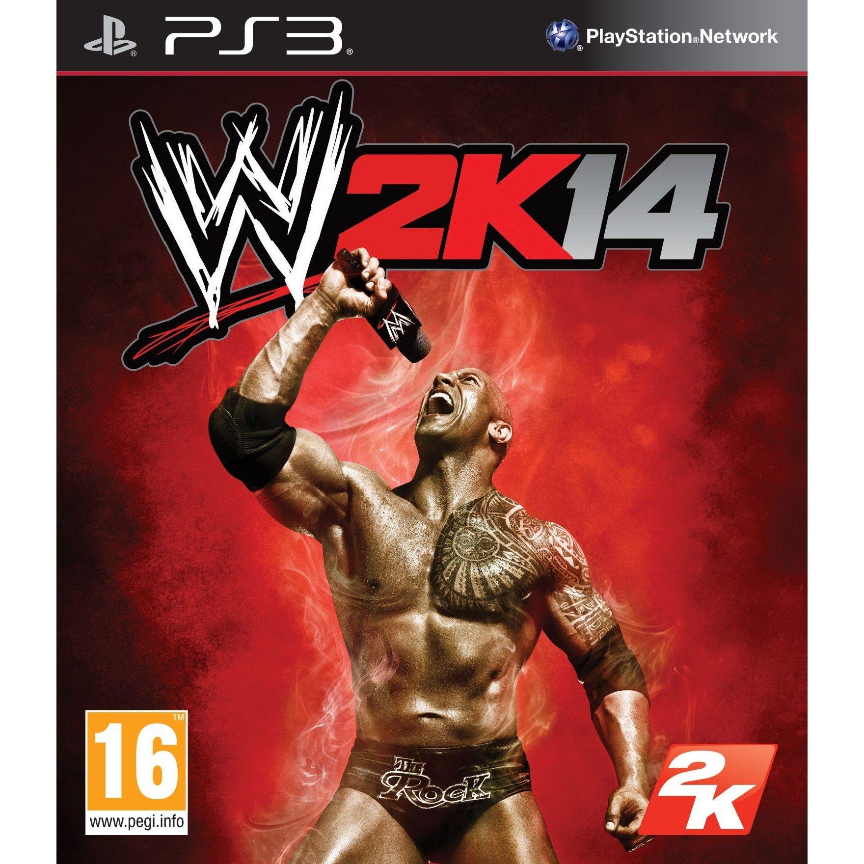 WWE 2K14 б/в PS3