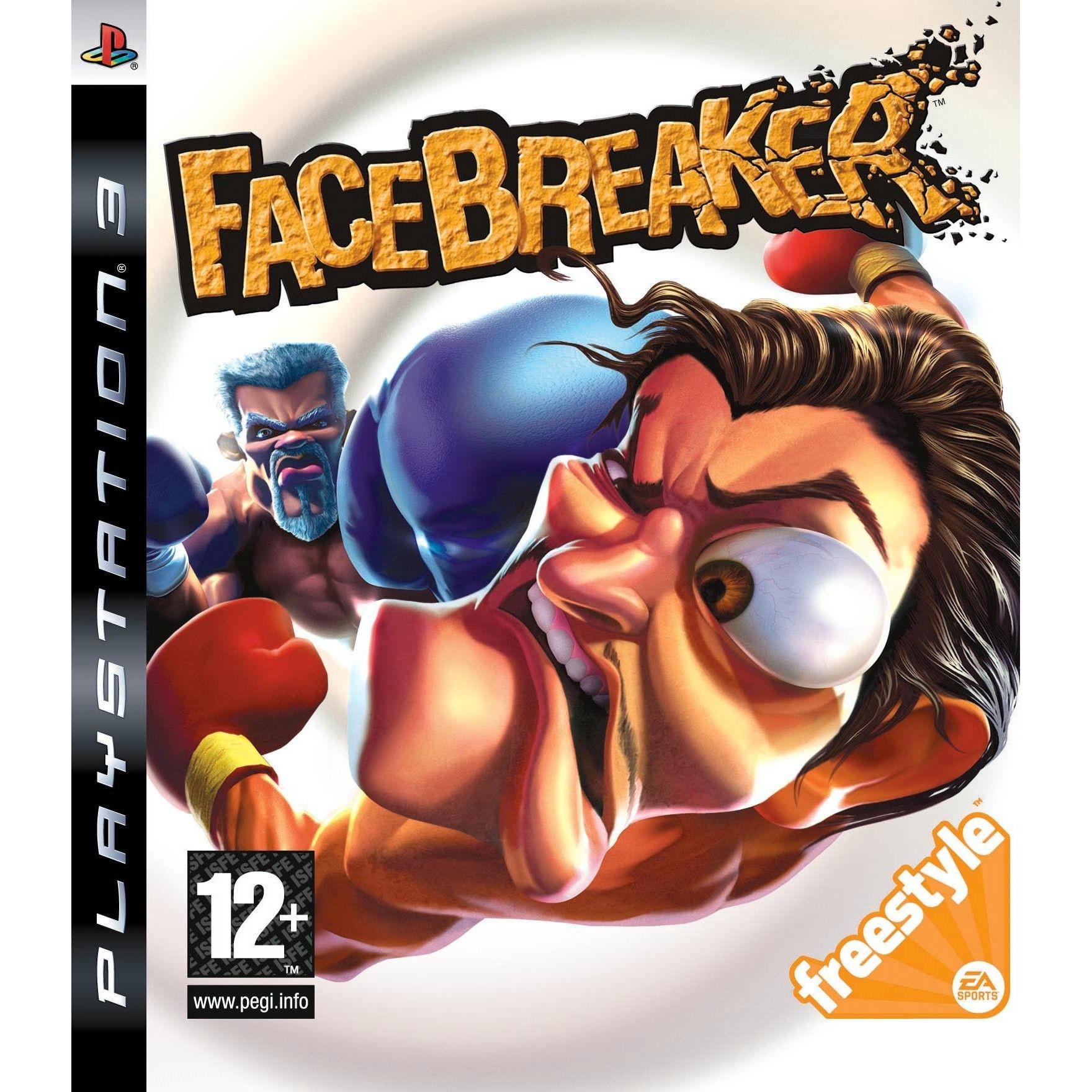 FaceBreaker б/в PS3