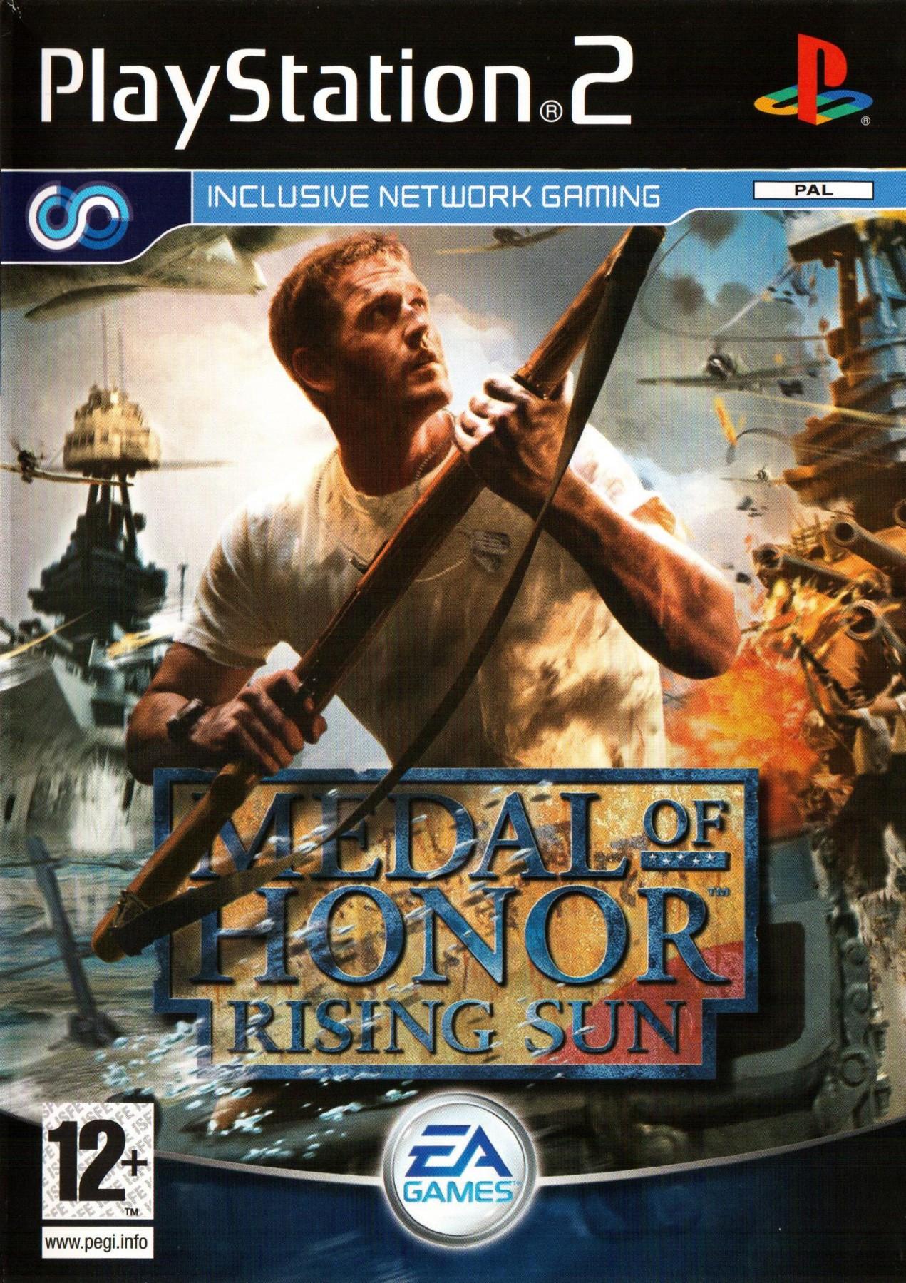 Medal of Honor Rising Sun б/в PS2