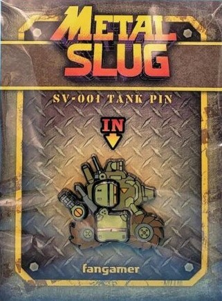 Metal Slug - SV001 Tank Pin | Значок