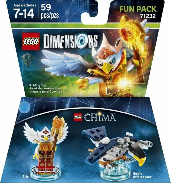 LEGO Dimensions Fun Pack Lego Legend of Chima (Eris, Eagle Interceptor) | LEGO Виміри