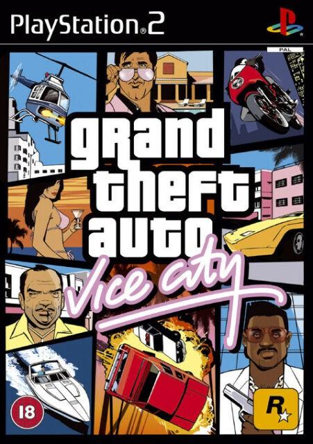 Grand Theft Auto Vice City   GTA Vice City   б/в PAL PS2