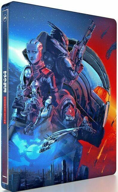 Steelbook Mass Effect: Legendary Edition | Стілбук