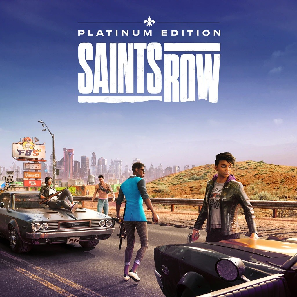 Прокат Saints Row Platinum Edition от 7 дней PS4/PS5