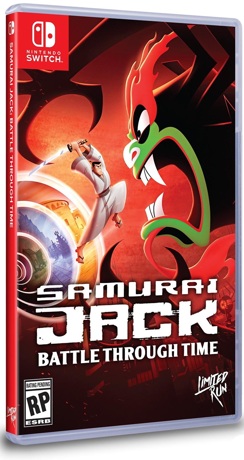 Samurai Jack Battle Through Time SWITCH