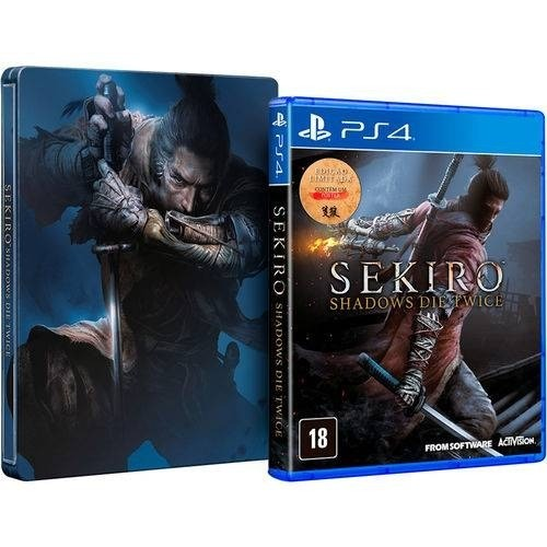 Sekiro: Shadows Die Twice + Steelbook PS4
