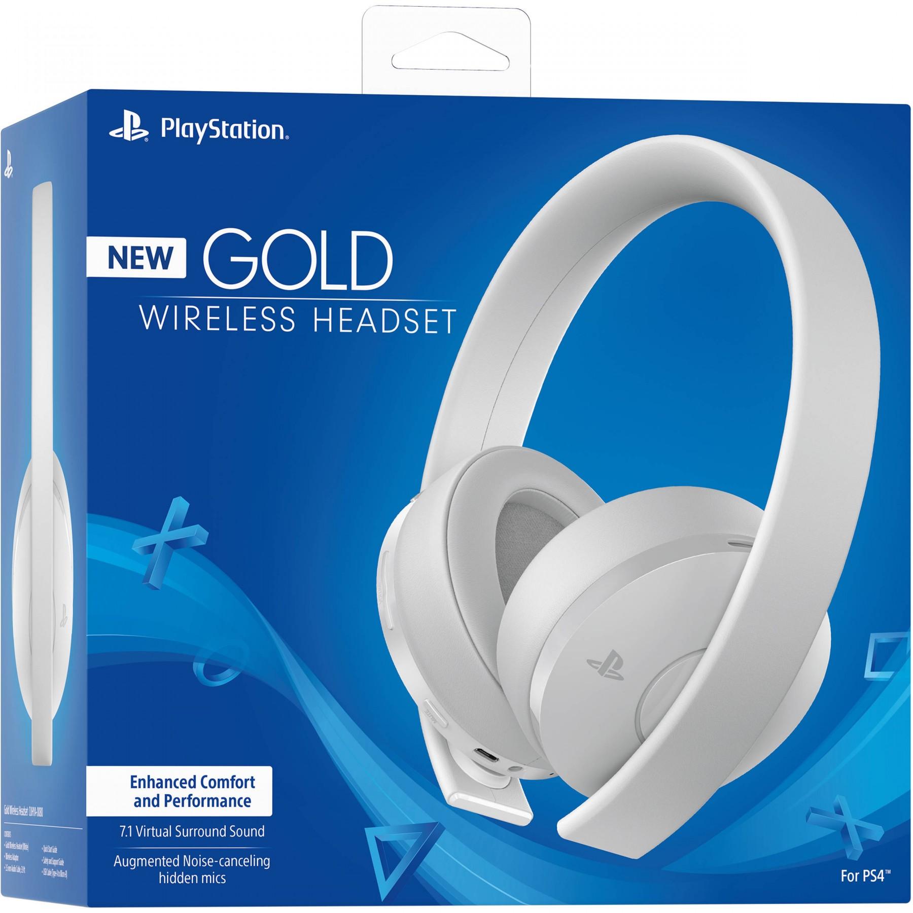 Беспроводная гарнитура Wireless Stereo New Gold (White)