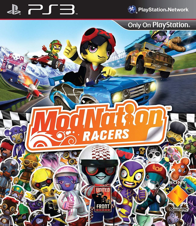 ModNation Racers б/у PS3