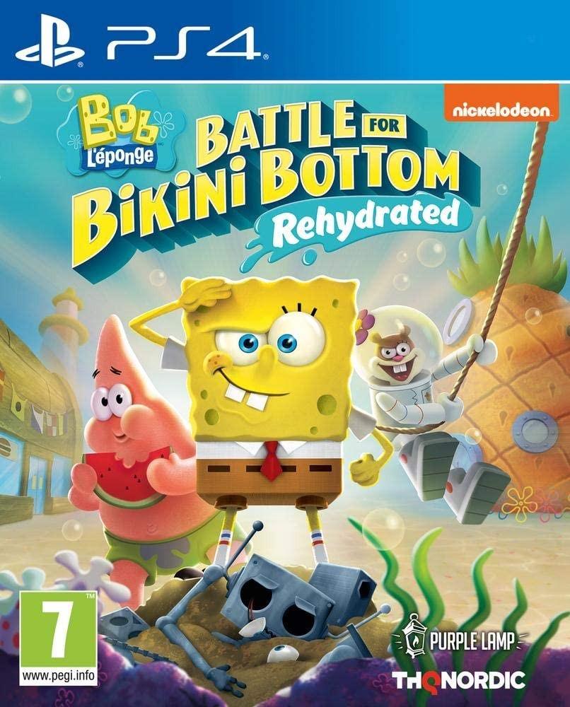 SpongeBob SquarePants Battle for Bikini Bottom Rehydrated | Губка Боб PS4