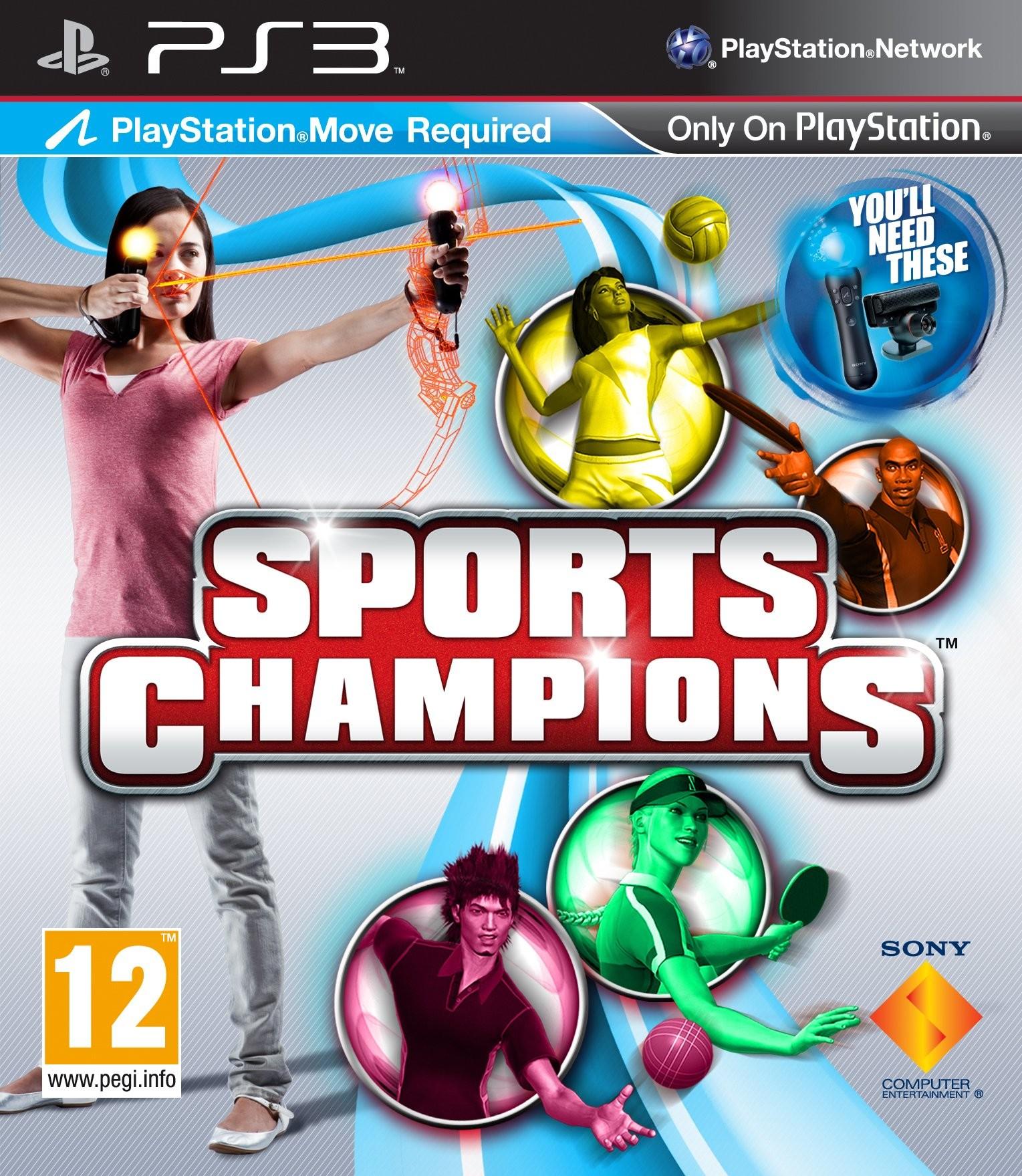 Sports Champions б/в PS3