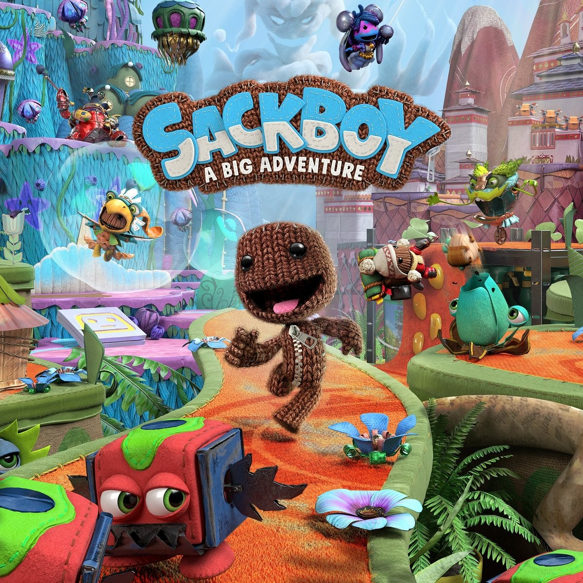 Прокат Sackboy A Big Adventure | Секбой Велика пригода від 7 днів PS4/PS5