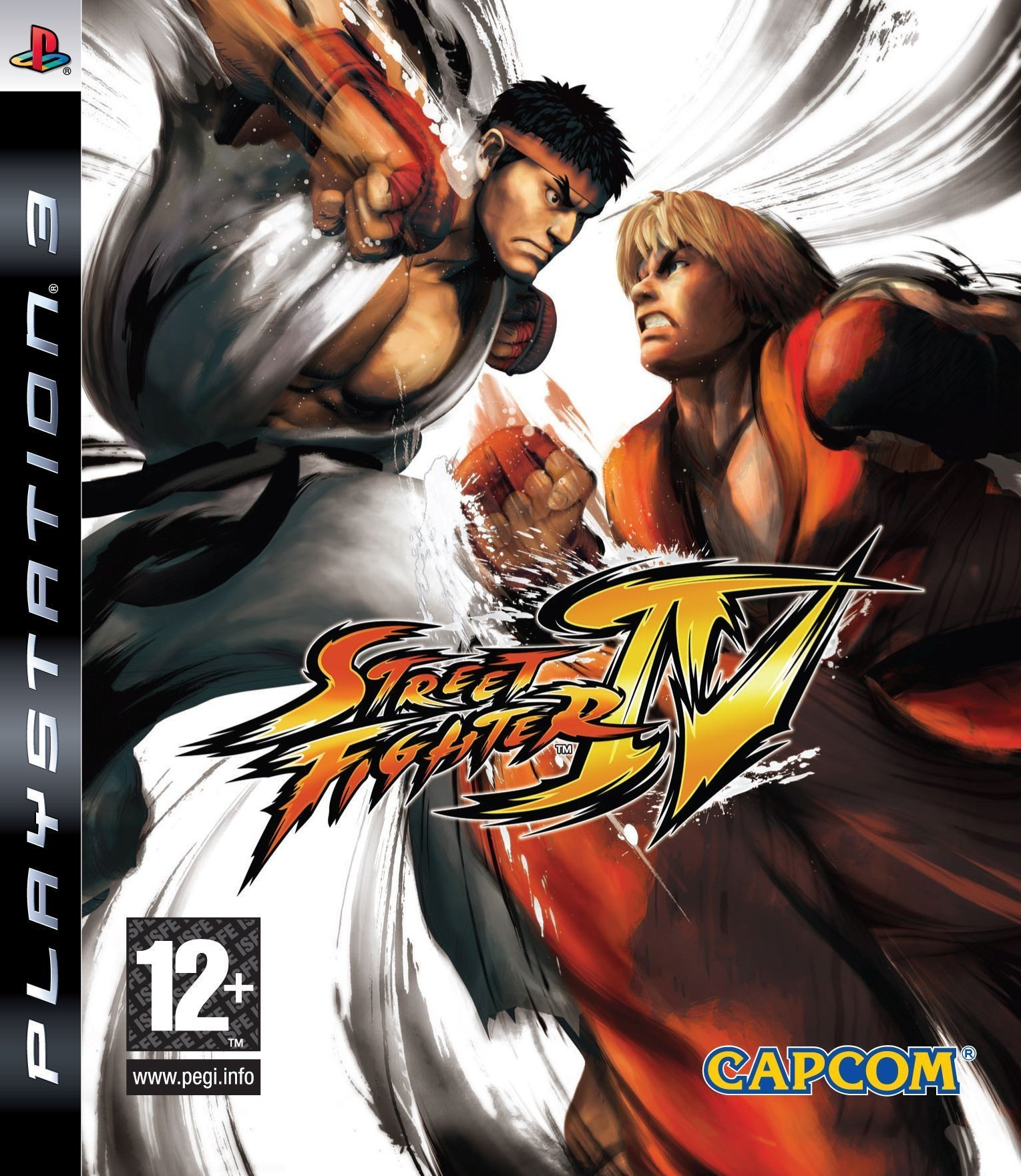 Street Fighter IV б/у PS3