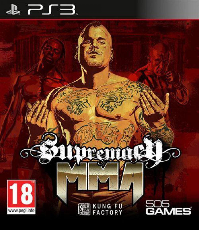 Supremacy MMA PS3