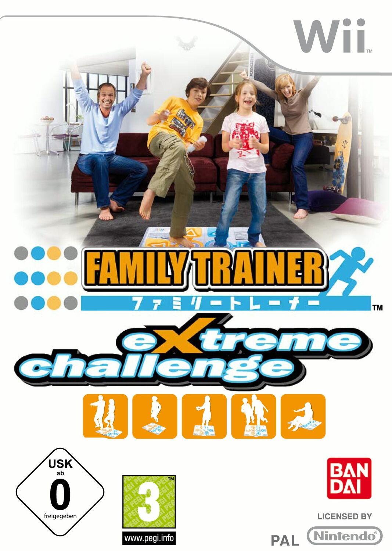 Family Trainer Extreme Challenge б/у Wii