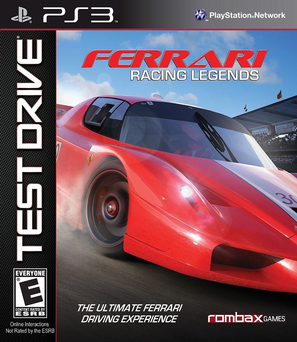 Test Drive Ferrari Racing Legends б/в PS3