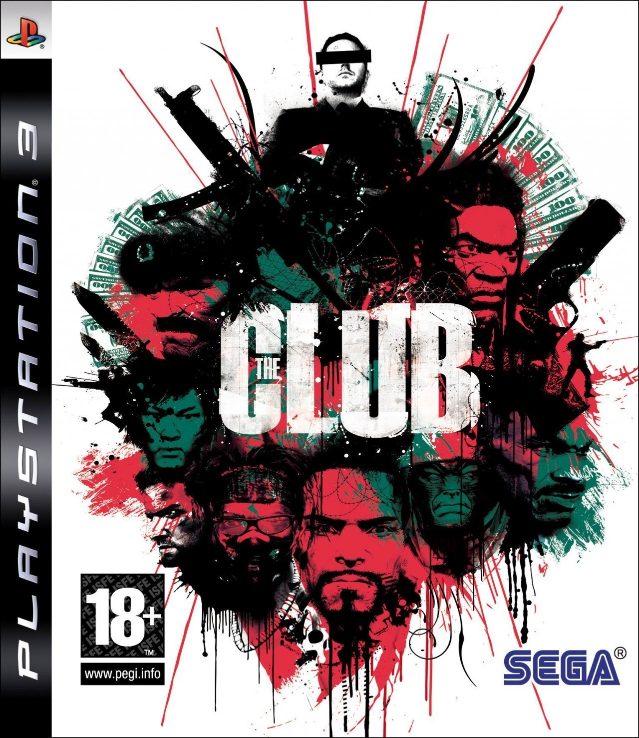The Club б/у PS3