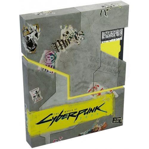 Артбук The World of Cyberpunk 2077 Deluxe Edition