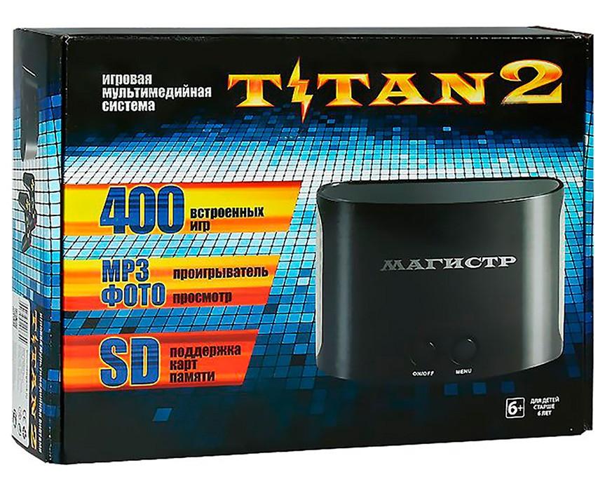 Titan 2 (Dendy + Sega) + 400 игр