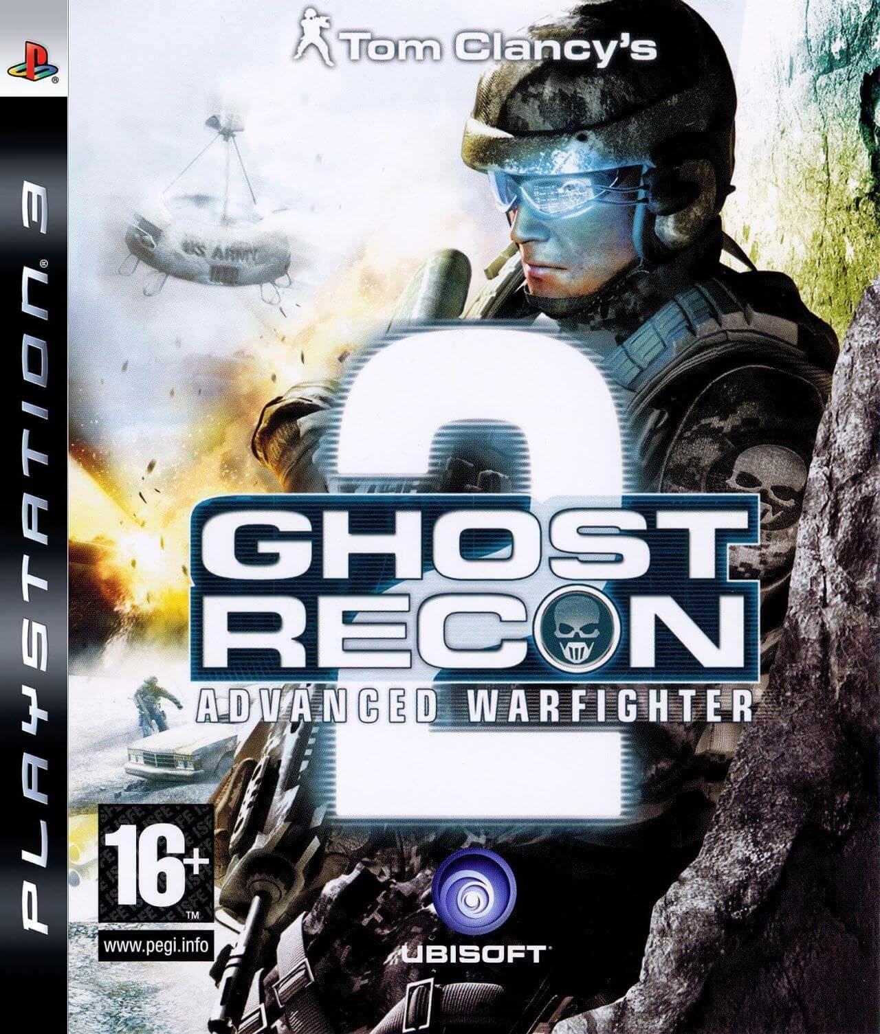 Tom Clancy's Ghost Recon Advanced Warfighter 2 б/в PS3