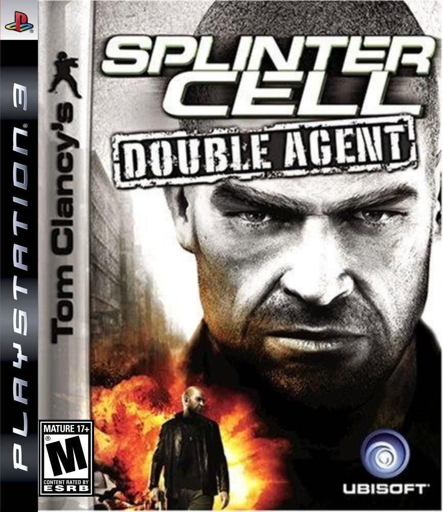 Tom Clancy's Splinter Cell Double Agent б/у PS3