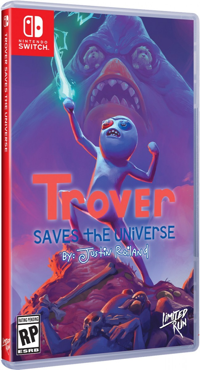 Trover Saves The Universe SWITCH