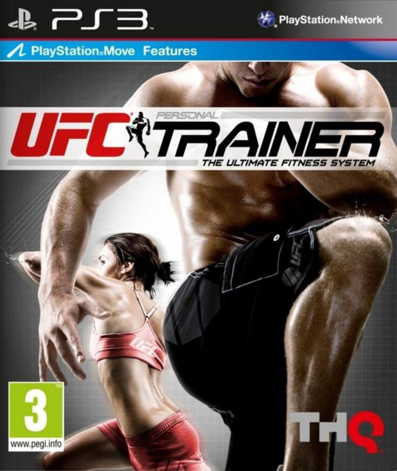 UFC Personal Trainer The Ultimate Fitness System б/в PS3