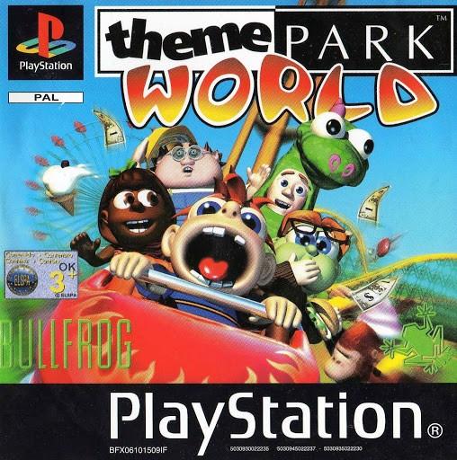 Theme Park World б/в PS1