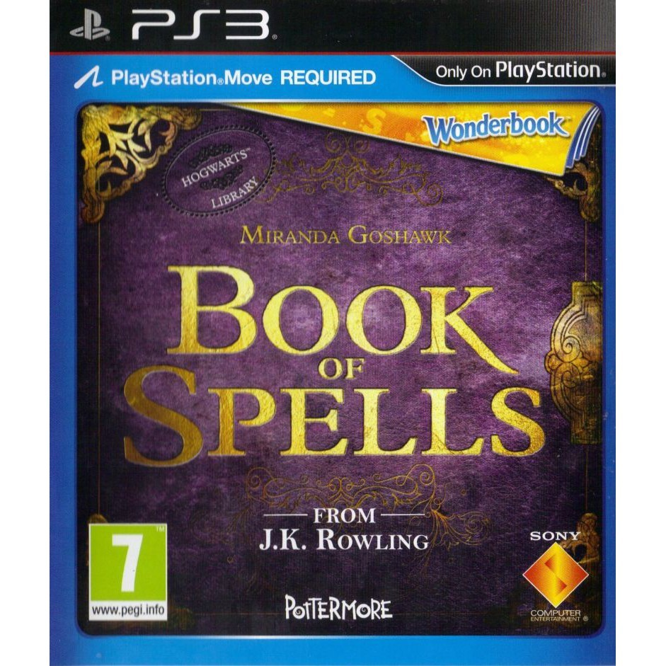 Wonderbook: Book of Spells б/в PS3