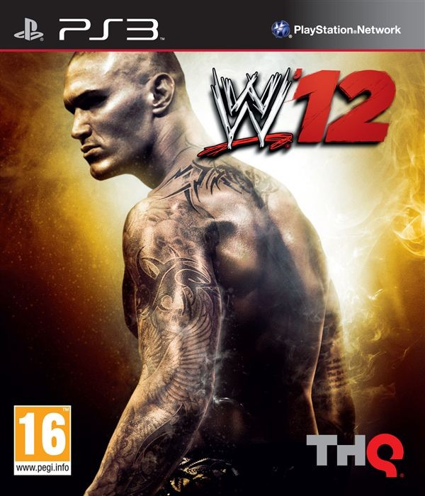 WWE '12 б/у PS3