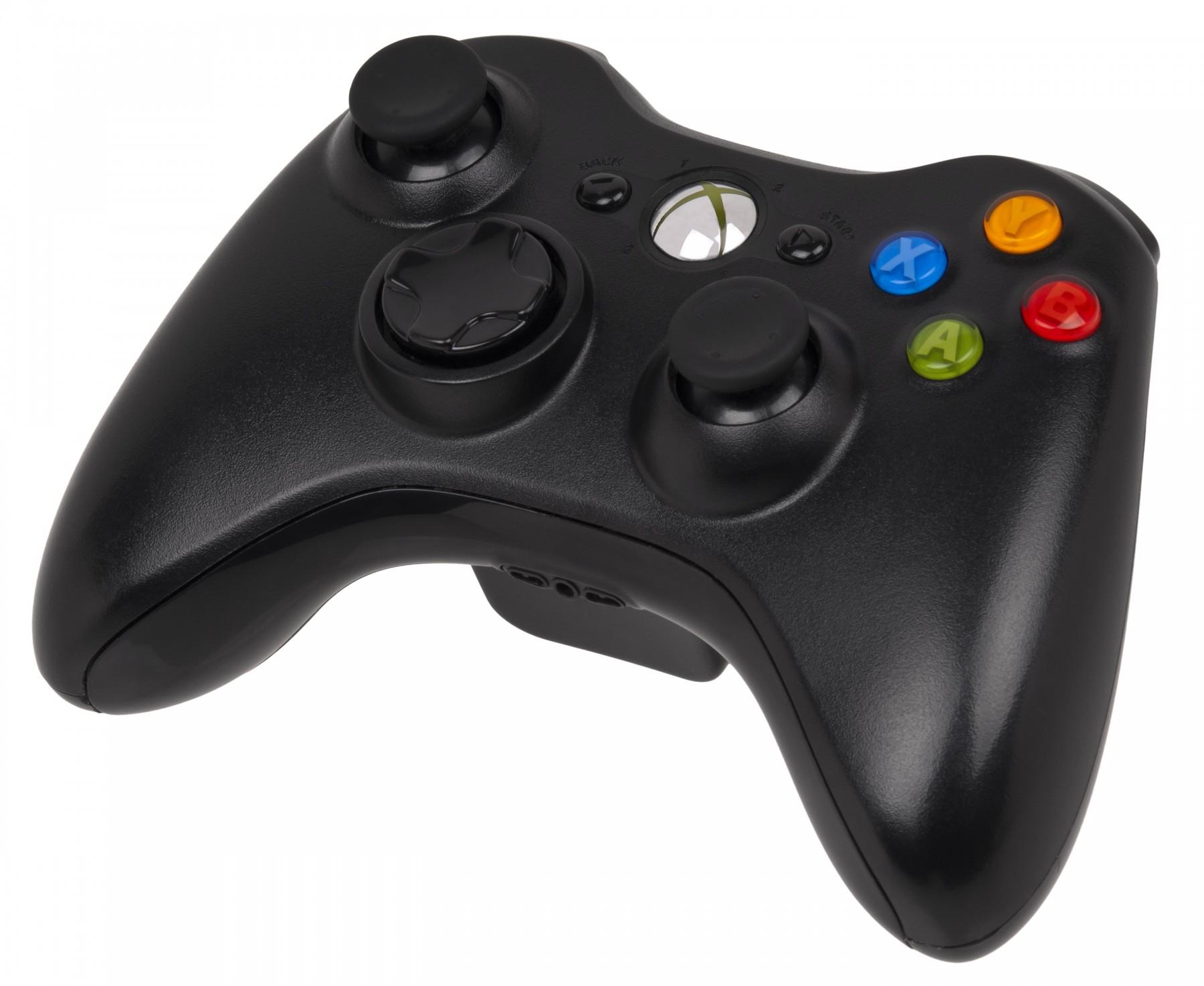 Бездротовий контролер/джойстик/геймпад Microsoft Xbox 360 Wireless Controller Black